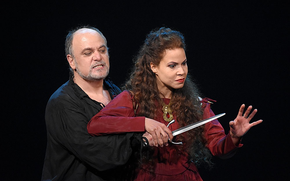 Macbeth, Parigi 2015 con Susanna Branchini