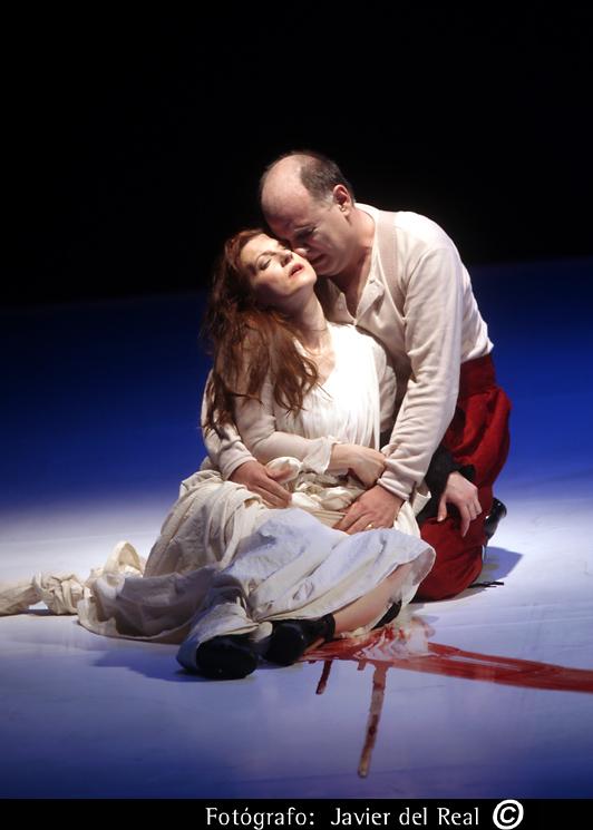 Rigoletto, Madrid 2009 con Patrizia Ciofi